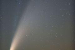 Kométa C/2020 F3 NEOWISE fotené 13.7.2020